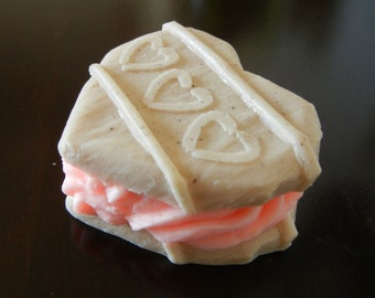 Big Heart Cookie Soap