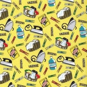 Michael Miller Laundry Essentials Cotton Fabric