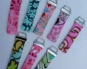 Chapstick / Lip Balm Cozies Key Ring- You Choose Fabric