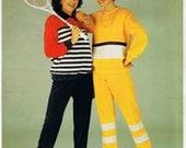 Vintage 1980s master Pattern Ladies Sweat Suit Track Suit or PJs all sizes