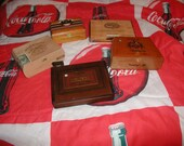 Lot of 5 wooden lot US shipping included