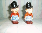 RESERVED 40s MOON MULLINS Looking Grumpy Old Men Japanese Salt and Pepper Shakers