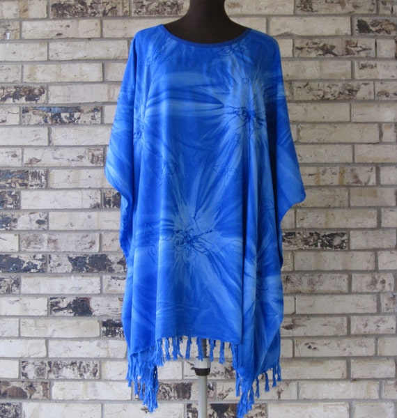 Tunic Plus Size Embroidered Rayon