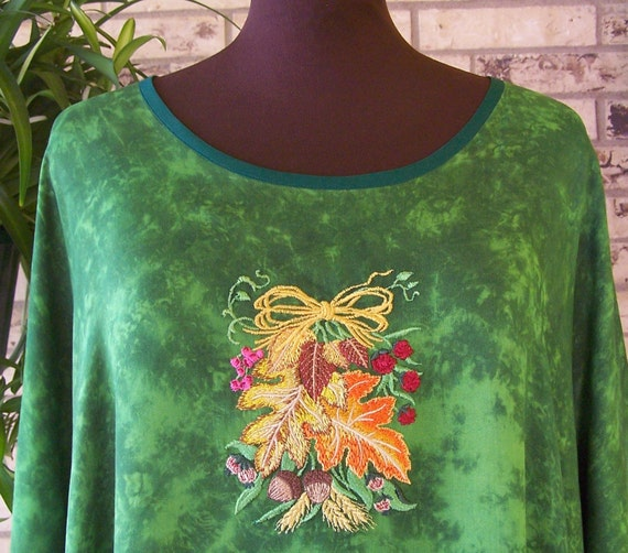 Plus Size Autumn Tunic/Caftan