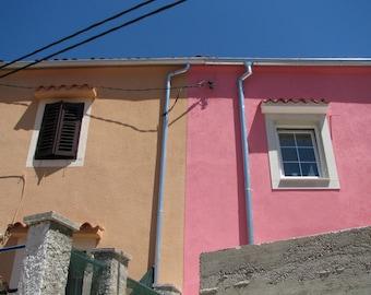 Croatia Photography, Europe, European, Alleys, Streets, Windows, Coastal Living, Pastels