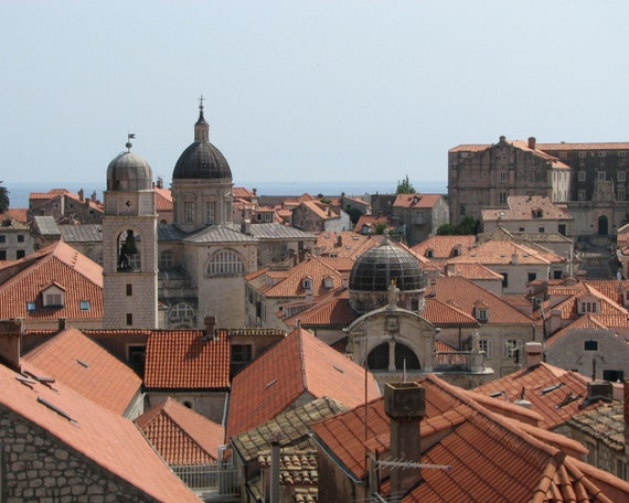 Croatia Photography, Dubrovnik Photography, Europe, Rooftops, Game of Thrones, Kings Landing