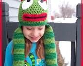 Boutique Custom Crochet Brobee Hat