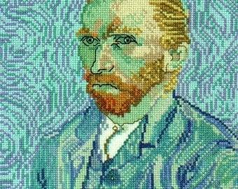 Van Gogh,  A Self Portrait--LB02187