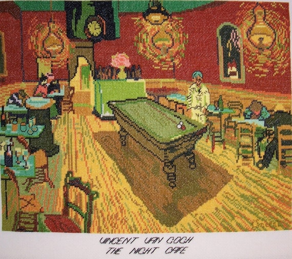 Van Gogh's, The Night Cafe (Pool Hall)--LB04214