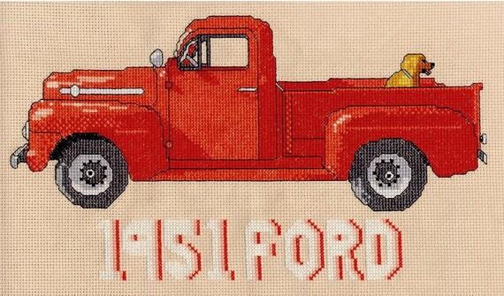 1951 FORD F1 w/friend--LB98092