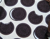 Chocolate Cookies Chalkboard Placemat