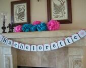Bachelorette banner, party banner, party decoration,chandelier,bridal shower, banner