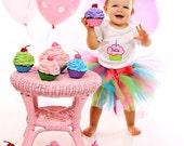 Tutu Much Fun 1st Birthday Custom Made Birthday Tutu Set Great for Party or Photo Prop