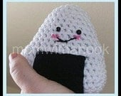 Kawaii Onigiri Rice Ball Couple PDF printable Pattern Crochet