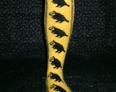 Hufflepuff Pride Socks PDF Knitting Pattern