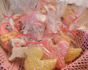 Homemade Easter cookies