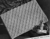 Handbag Clutch - 1940s Vintage Pattern Digitally Restored PDF e-Book - Instant Download