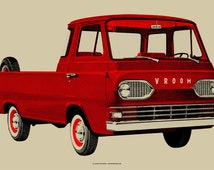 Vroom Limited Edition Silk Screen Art Print