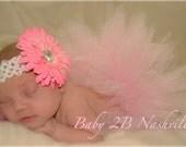 Pink Newborn Baby Tutu  ....