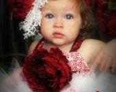 Christmas Rose Fascinator...