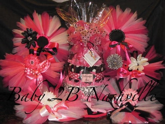 Baby Shower Decoration Packages : Baby shower decorations package includes newborn tutus
