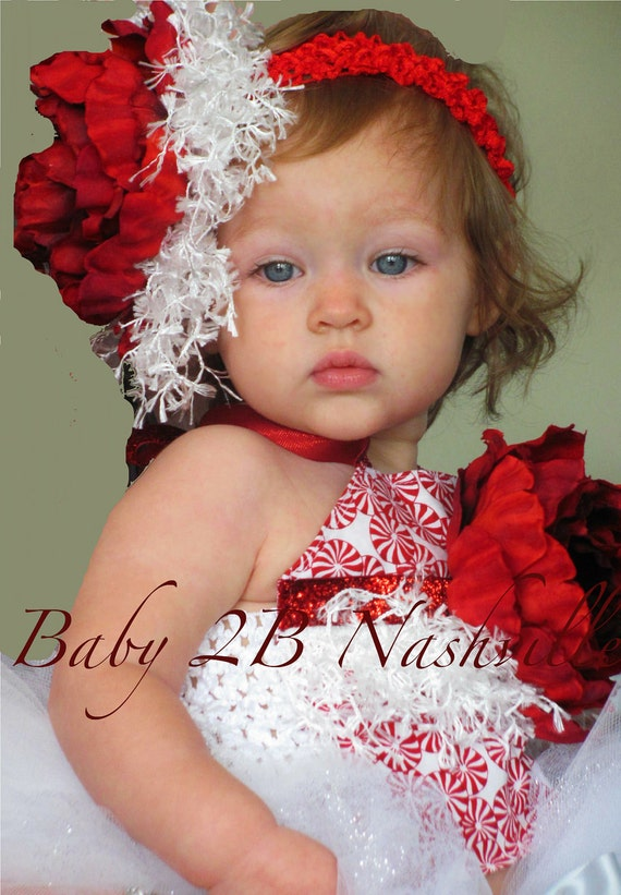 Christmas Peppermint Tutu Costume  Baby - 24M