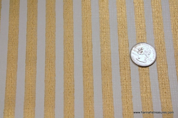 1940's Vintage Wallpaper Metallic Gold stripe Perfect for the Holidays