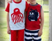 GBB GorillaBear Boys custom boutique Tough dog Baggies summer outfit