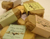 TWO fabulous olive oil soaps
