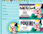 Custom business card, invite design for Bumblebeebaby