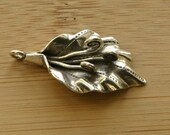 Hilltribe Silver Flower Pendant