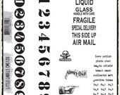 Tim Holtz Little Labels