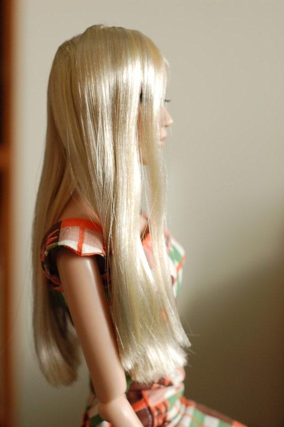 "Hardcap wig for Sybarite 16"" fashion doll"