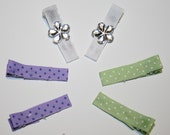 Custom Boutique Spring Itty Bitty Hair Clippies