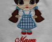 TLB Custom Cutie Dorothy Personalized T shirt set