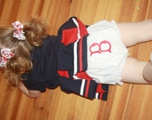 TLB Custom Personalized Monogrammed Baseball Team Red Sox Yankee Mets Sox Diaper Cover Bloomers