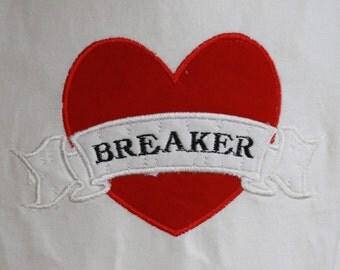TLB Heart Breaker Valentine Boutique Applique T Shirt