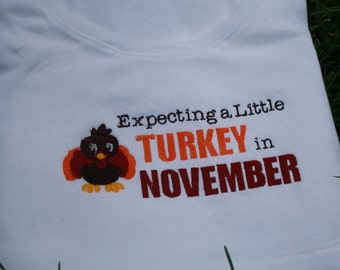 TLB Maternity T Thanksgiving Turkey for pregnancy and beyond