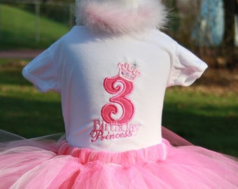 Pinkalicious Birthday Princess Tutu Tshirt and Tutu Set TLB