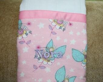 Fun Fairy Burp Cloth