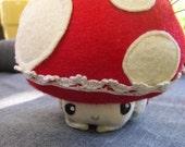 Mushroomlet pincushion