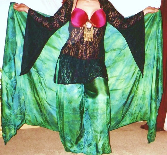 washable SILK PANTALOON tribal belly dance SCA Renaissance costume