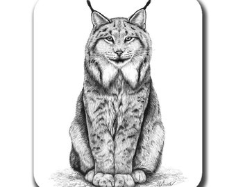 Canadian Lynx Art Mouse Pad