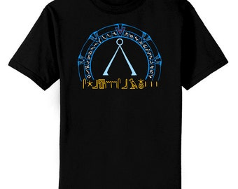 Stargate In Color Fan Art T-Shirt Youth and Adult Sizes
