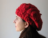 Vermilion Red Beret