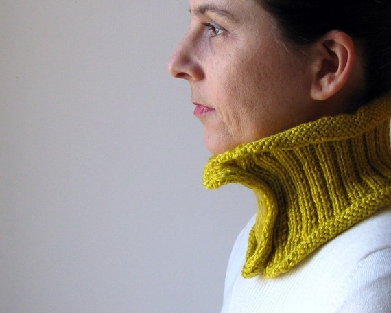 October Discount Mustard Yellow Cowl