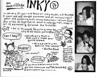 The East Village Inky, Issue No. 17