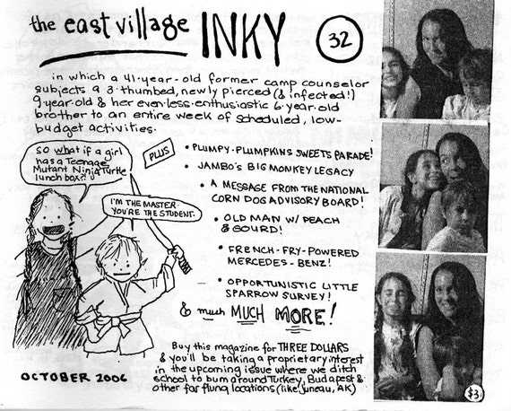 The East Village Inky, Issue No. 32
