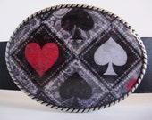 Jada Belt Buckle - Full Deck - Oval Wearable Art