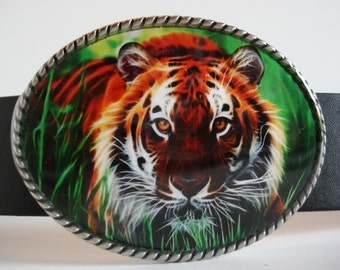 Tiger Belt Buckle -  Animal Jada belt buckle